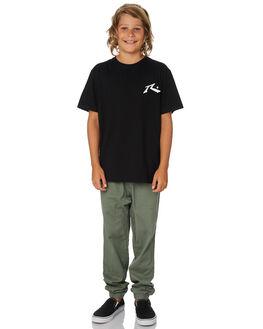 BLACK KIDS BOYS RUSTY TOPS - TTB0604BLK