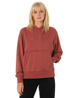 FADED RED WOMENS CLOTHING THRILLS JUMPERS - WTH9-208HFRED