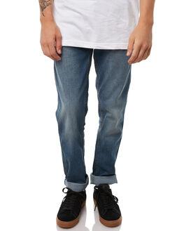 MID BLUE MENS CLOTHING GLOBE JEANS - GB01736006MBLU