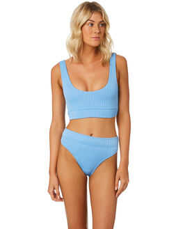 BLUE WOMENS SWIMWEAR SWELL BIKINI TOPS - S8184331BLUE