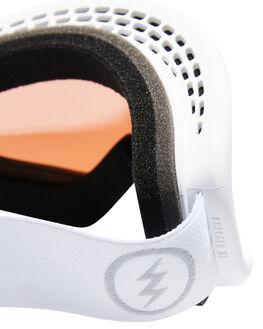 MATTE WHITE BOARDSPORTS SNOW ELECTRIC GOGGLES - EG2318103MWHI