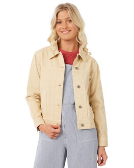 CLAY WOMENS CLOTHING RVCA JACKETS - R281433C98