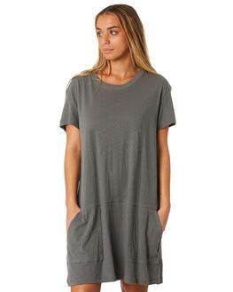 NAVAL GREY WOMENS CLOTHING RUSTY DRESSES - DRL0952NVG