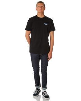 BLACK MENS CLOTHING DEPACTUS TEES - D5184013BLACK
