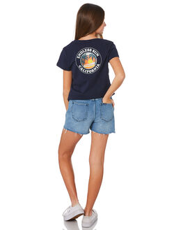 INDIGO TUX KIDS GIRLS RIDERS BY LEE SHORTS + SKIRTS - R-80142T-LL8INDTX