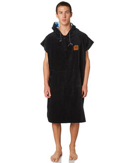 BLACK MENS ACCESSORIES SLOWTIDE TOWELS - ST078BLK