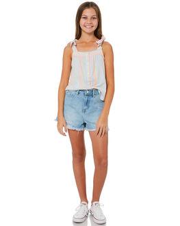 DENIM KIDS GIRLS THE HIDDEN WAY SHORTS + SKIRTS - H6184232DENIM