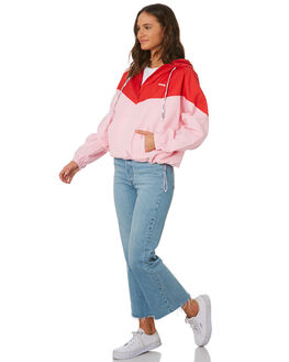 COLORBLOCK PINK RED WOMENS CLOTHING LEVI'S JACKETS - 75653-00000000
