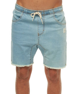 90S BLUE MENS CLOTHING RUSTY SHORTS - WKM0784NTB