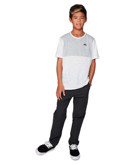 DARK GREY HEATHER KIDS BOYS QUIKSILVER PANTS - EQBNP03076-KRPH