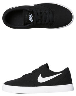 BLACK WHITE KIDS BOYS NIKE SNEAKERS - 905373-003