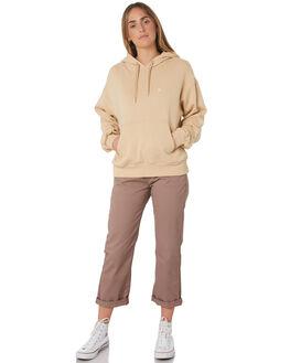NATURAL WOMENS CLOTHING BRIXTON JUMPERS - 02712-NATUR