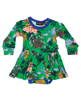 GREEN KIDS BABY ROCK YOUR BABY CLOTHING - BGD1938-KYGRN