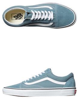 GOBLIN BLUE WHITE MENS FOOTWEAR VANS SNEAKERS - VNA38G12LJBLU
