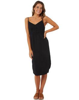 BLACK WOMENS CLOTHING BILLABONG DRESSES - 6572489BLACK