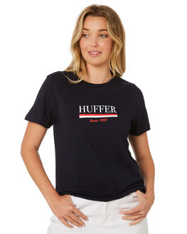 NAVY WOMENS CLOTHING HUFFER TEES - WTE84S42212NVY