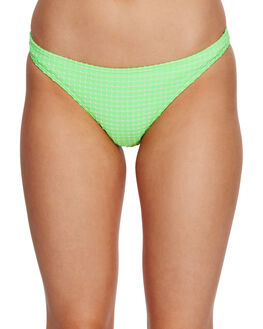 NEON GREEN WOMENS SWIMWEAR BILLABONG BIKINI BOTTOMS - BB-6591651-NGN