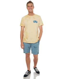 OVERCAST CLOUD MENS CLOTHING KATIN SHORTS - WSPATS17OCLO