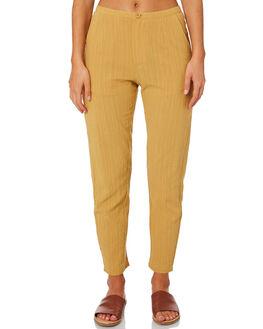CAMEL WOMENS CLOTHING THE HIDDEN WAY PANTS - H8201202CAMEL