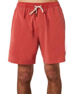 RED CLAY MENS CLOTHING DEUS EX MACHINA BOARDSHORTS - DMP82557RED