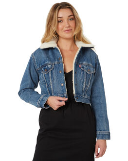 FIGHT OR FLIGHT WOMENS CLOTHING LEVI'S JACKETS - 57847-0000FOF