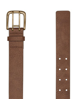 CHOCOLATE MENS ACCESSORIES RUSTY BELTS - BEM0496CHO