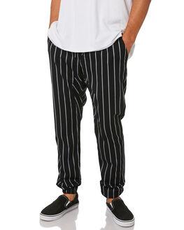 BLACK MILK MENS CLOTHING ZANEROBE PANTS - 727-WORDBKMIL