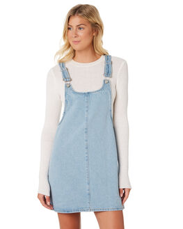 LIGHT OLD FAVES WOMENS CLOTHING ZIGGY PLAYSUITS + OVERALLS - ZW-1912BLU