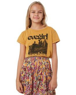 SUNSHINE YELLOW KIDS GIRLS EVES SISTER TOPS - 9540023YLW