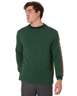 FOREST GREEN MENS CLOTHING PASS PORT TEES - PPINTERNATIONALFRGRN