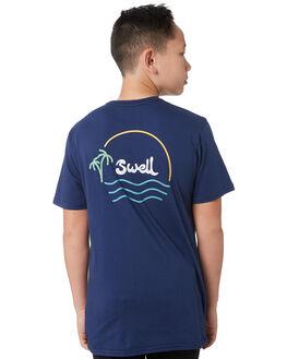 YALE BLUE KIDS BOYS SWELL TOPS - S3194001YALBL