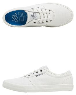 WHITE SPECKLE MENS FOOTWEAR KUSTOM SNEAKERS - KS-4976100M-WTS