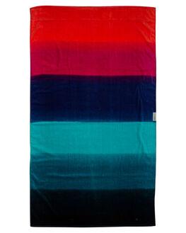 BLUE MENS ACCESSORIES LEUS TOWELS TOWELS - 02PRHZBLBLU