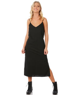 BLACK WOMENS CLOTHING ELWOOD DRESSES - W83713-BLK