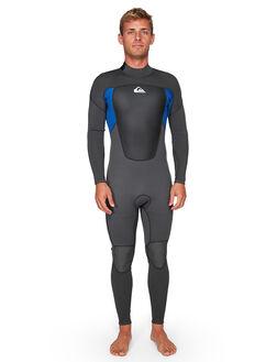 JET BLACK/NITE BLUE BOARDSPORTS SURF QUIKSILVER MENS - EQYW103068-XKBB