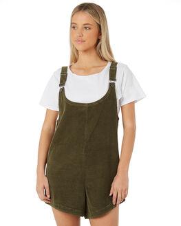 KHAKI WOMENS CLOTHING SWELL PLAYSUITS + OVERALLS - S8183453KHAKI