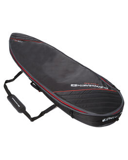 BLACK RED BOARDSPORTS SURF OCEAN AND EARTH BOARDCOVERS - SCFB26BLKRE