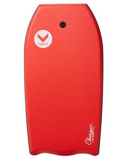 RED WHITE BOARDSPORTS SURF HYDRO BODYBOARDS - CB18-HYDREDWH