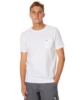 WHITE MENS CLOTHING RIP CURL TEES - CTECV21000