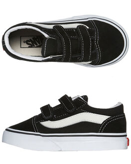 BLACK KIDS BOYS VANS FOOTWEAR - VN-0D3YBLK