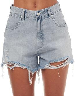 MOJAVE BLEACH WOMENS CLOTHING WRANGLER SHORTS - W-950988-EB3MJBCH