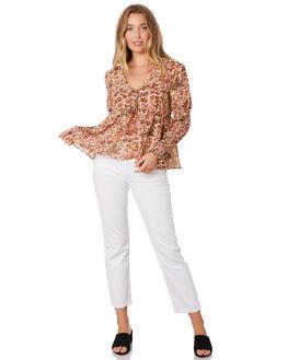 BLOSSOM FOUNTAIN WOMENS CLOTHING STEVIE MAY FASHION TOPS - SL190515TBLOSF