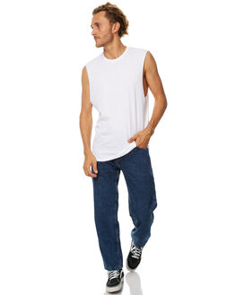 WHITE MENS CLOTHING SWELL SINGLETS - S5164271WHT