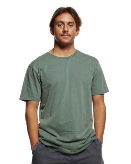 GARDEN TOPIARY MENS CLOTHING QUIKSILVER TEES - EQYKT03902-GRT0