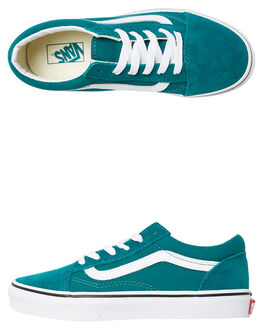 QUETZAL GREEN KIDS BOYS VANS SNEAKERS - NA38HBVFE