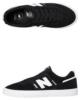 BLACK WHITE MENS FOOTWEAR NEW BALANCE SNEAKERS - NM306BLKBLKW