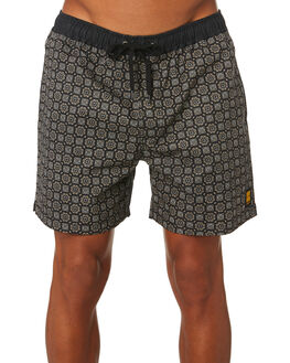 BLACK MENS CLOTHING INSIGHT BOARDSHORTS - 1000082593BLK