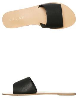 BLACK WOMENS FOOTWEAR BILLINI SLIDES - S452BLK