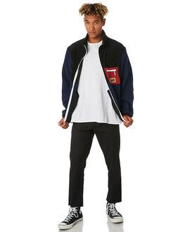 BLACK MENS CLOTHING BARNEY COOLS JACKETS - 511-CC3BLK