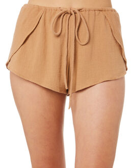 DUSTY PINK WOMENS CLOTHING RUE STIIC SHORTS - WSS18-06-DP-CPDPINK